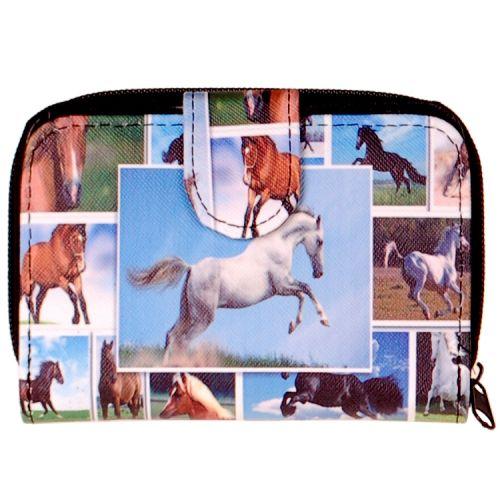 Portemonnee paarden
