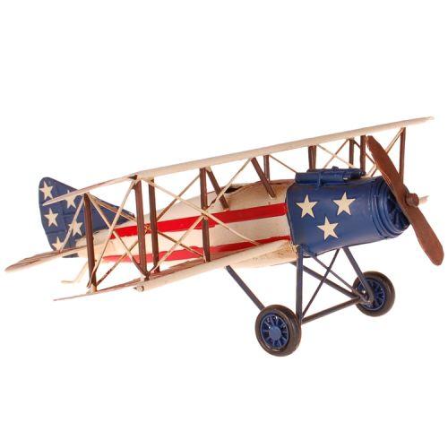 Metalen vliegtuig dubbeldekker USA