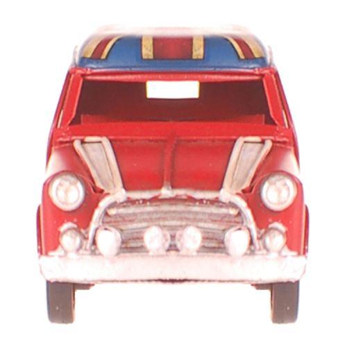 Metalen kleine auto Mini rood engelse vlag