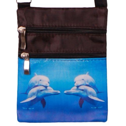 Schoudertasje dolfijnen