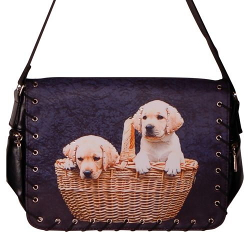 Schoudertas Labrador pups