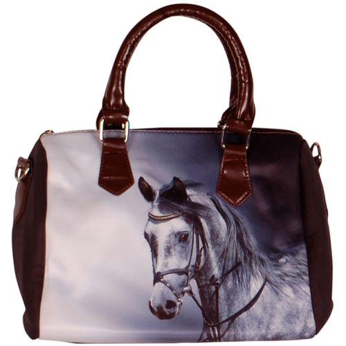 Handtas grijs Paard