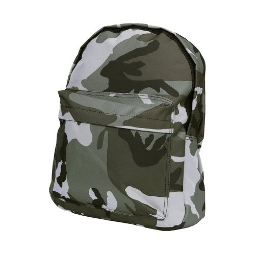 Rugzak camouflage zwart/wit Urban