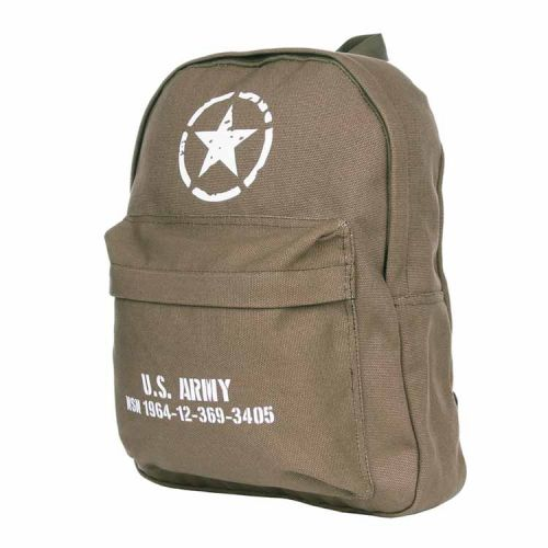 Rugzak U.S. Army Allied stars groen