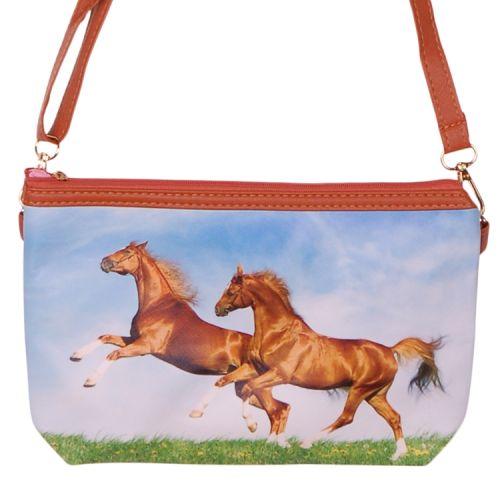 Schoudertasje paarden