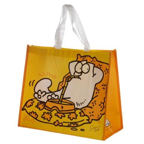 Boodschappentas Simon´s Cat geel