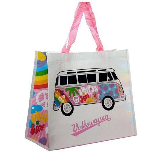 Boodschappentas - Volkswagen kampeerbusje T1 - Summer Love