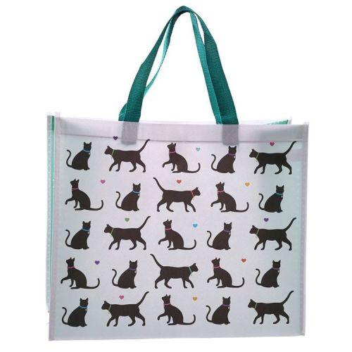 Boodschappentas - I love my Cat - Zwarte Katten