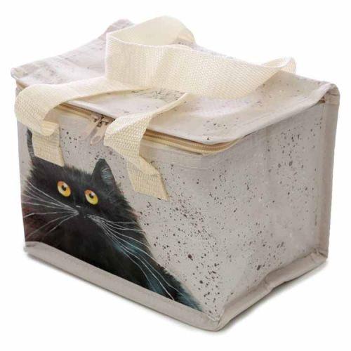 Koeltas/lunchtas Kim Haskins zwarte kat