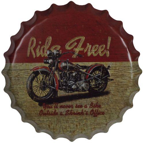Bierdop/kroonkurk ride free