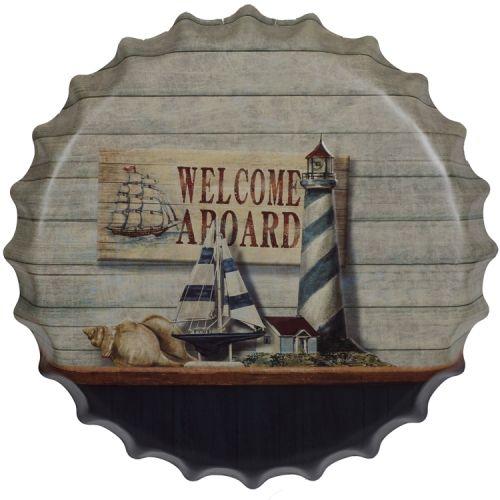 Bierdop/kroonkurk welcome aboard