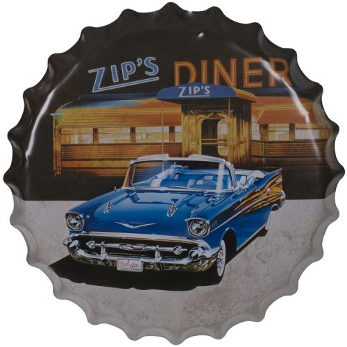 Bierdop/kroonkurk zips diner