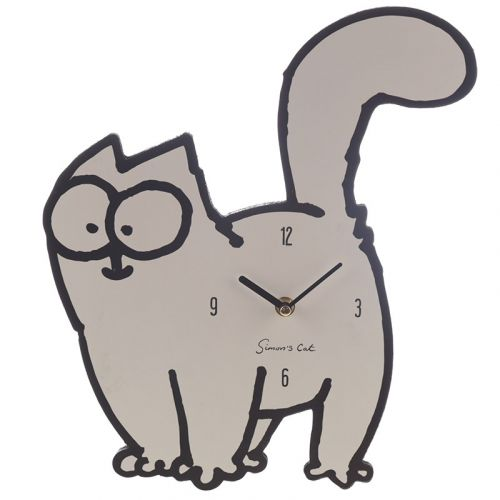 Klok Simon's cat