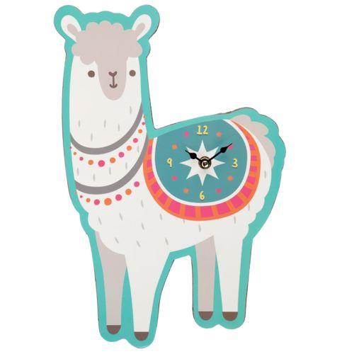 Klok in de vorm van een lama/alpaca