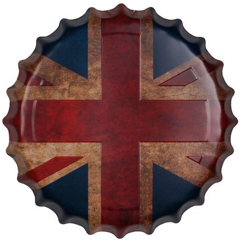Bierdop/Kroonkurk Britse Vlag