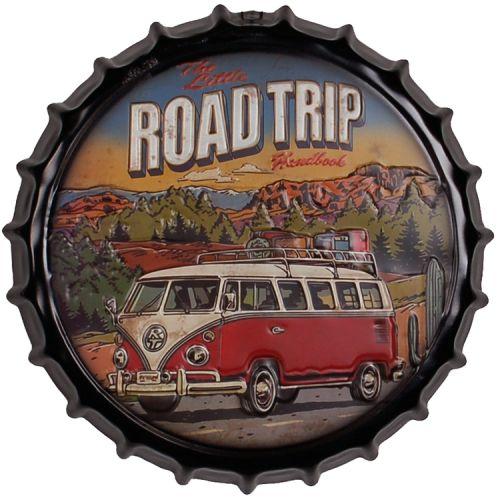 Bierdop/Kroonkurk Volkswagen busje - Road Trip