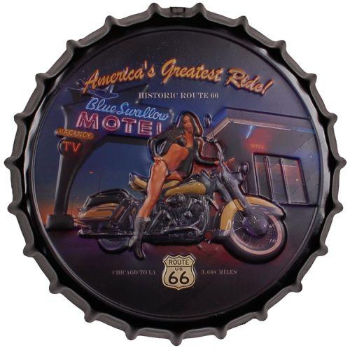 Bierdop/Kroonkurk Motor Route 66 - Motel