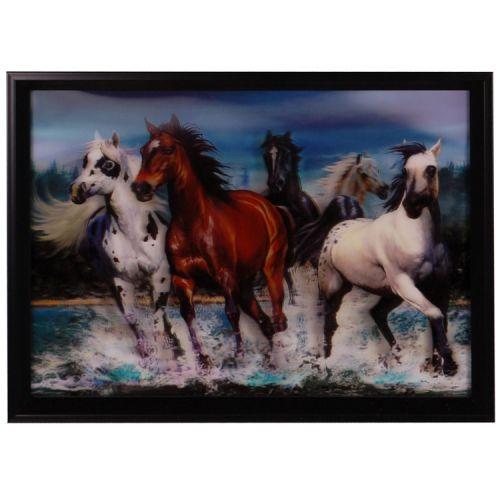 3-d schilderij Paarden