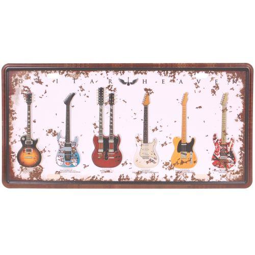 Amerikaans nummerbord - ghitar heaven