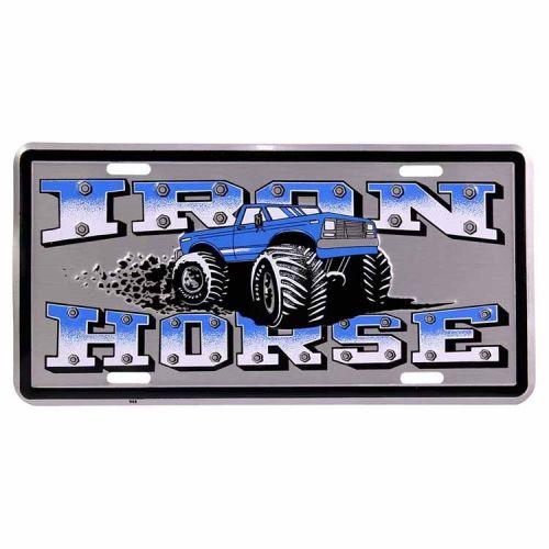 Amerikaans nummerbord - Iron Horse