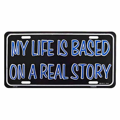 Amerikaans nummerbord - Life real story