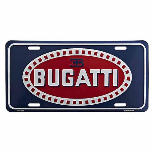 Amerikaans nummerbord - Bugatti