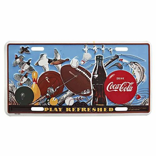 Amerikaans nummerbord - Coca Cola