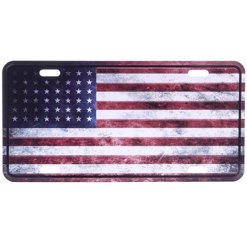 Amerikaans nummerbord - Amerikaanse vlag WWII