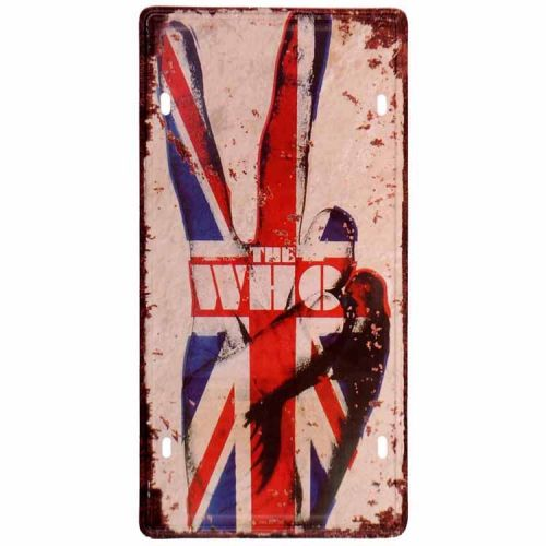 Amerikaans nummerbord - The Who