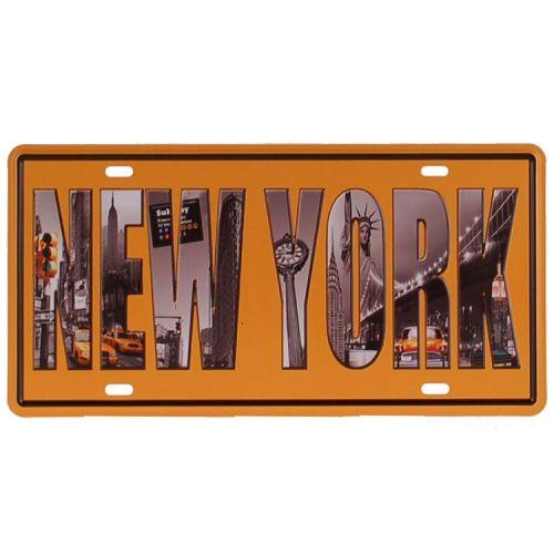 Amerikaans nummerbord - New York