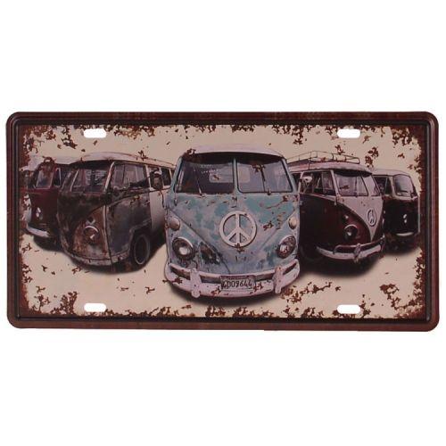 Amerikaans nummerbord - Volkswagen busjes