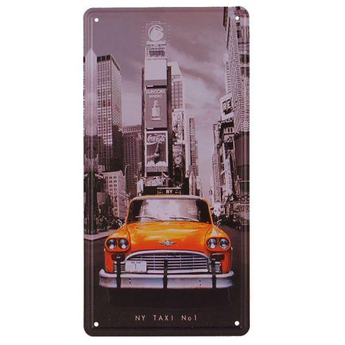 Amerikaans nummerbord - New York Taxi