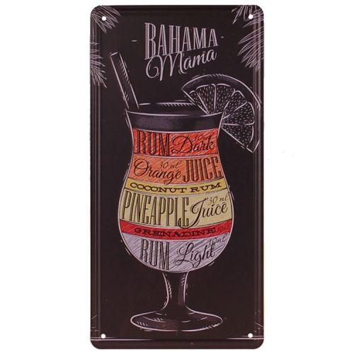 Amerikaans nummerbord - Bahama Mama Cocktail
