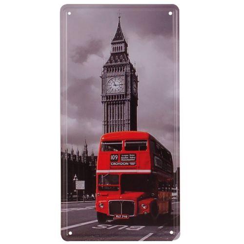 Amerikaans nummerbord - London Bus