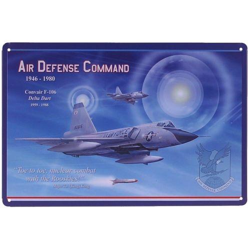Metalen plaatje - Convair F-106