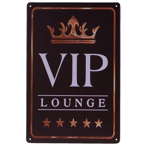 Metalen plaatje - VIP Lounge