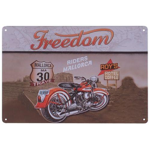 Metalen plaatje - Freedom Riders