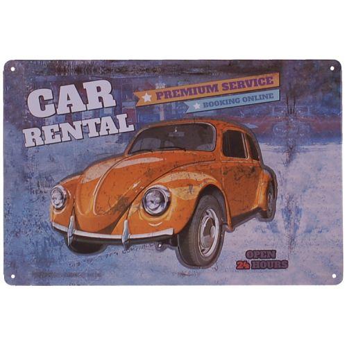 Metalen plaatje - Volkswagen Kever