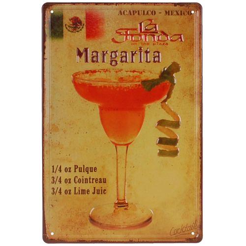 Metalen plaatje - Margarita
