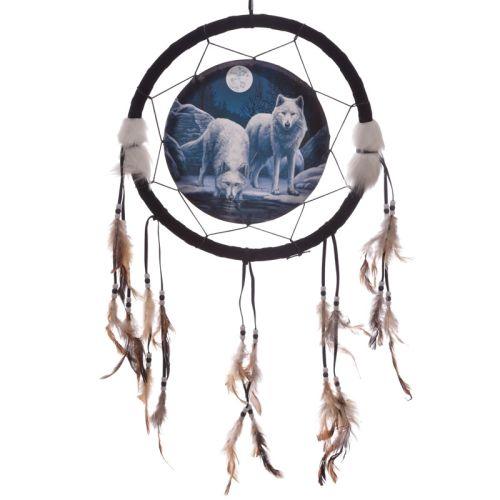 Dromenvanger wolf 33cm Lisa Parker - Warriors of winter wolf