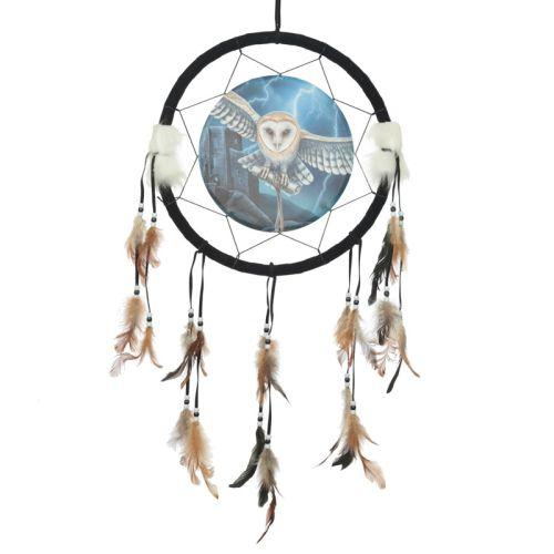 Dromenvanger uil 33cm Lisa Parker - Heart of the storm owl