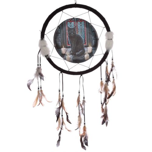 Dromenvanger kat 33cm Lisa Parker - sacred circle
