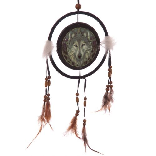 Dromenvanger wolf 16cm Lisa Parker - Wolf Head