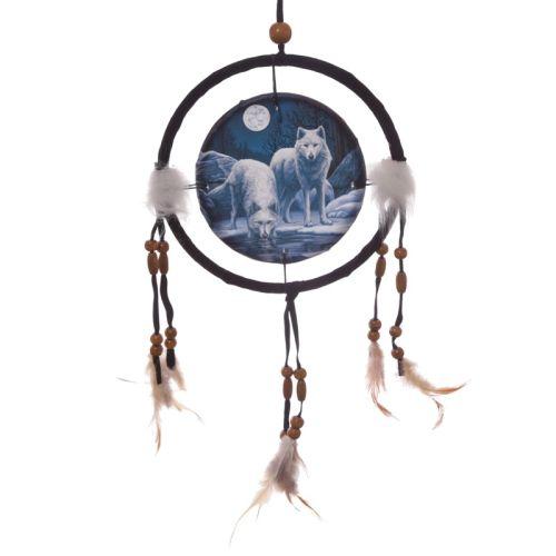 Dromenvanger wolf 16cm Lisa Parker - Warriors of winter wolf
